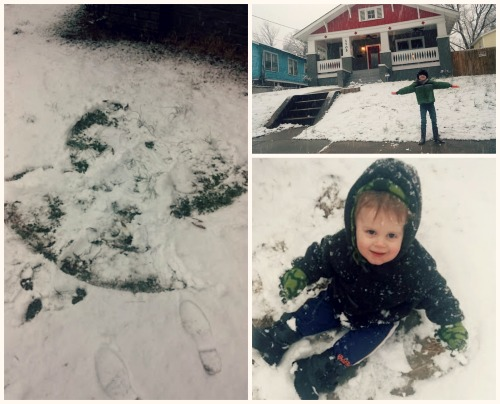 PicMonkey Collage- Snow night